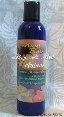 The Hawaiian Classic Perfumes Collection Hawaiian Maui Rain Tropical Moisture Body Lotion