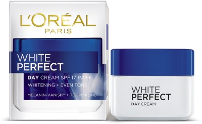 L,Oreal Paris Paris White Perfect Day Cream spf 17 pa++ whiting + even tone