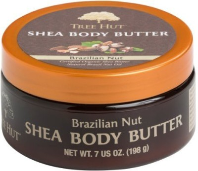 Tree Hut Shea Body Butter, Brazilian Nut, - (Pack of 3)
