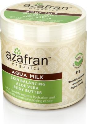 Azafran Organics Aqua Milk Skin Balancing Aloe Vera Body Butter