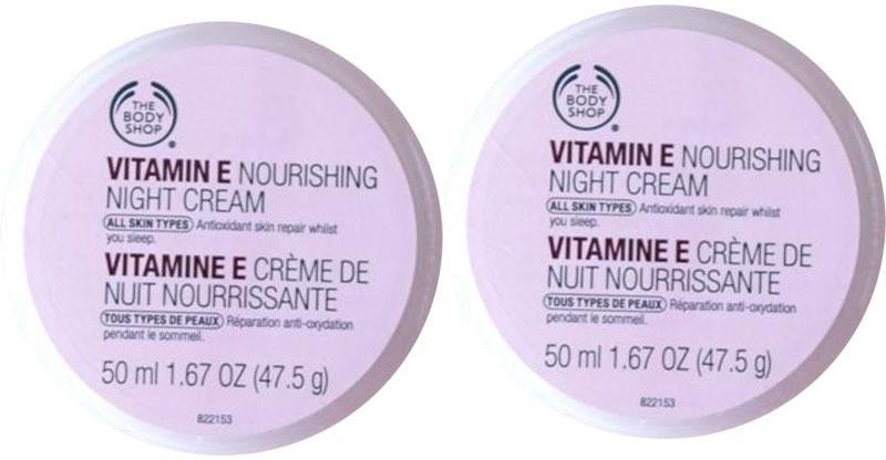 The Body Shop Vitamin E Nourishing Night Cream(100 ml)