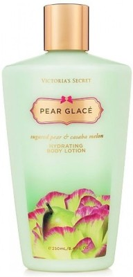 Victoria's Secret Pear Glace Sugared & Casaba melon hydrating Body Lotion