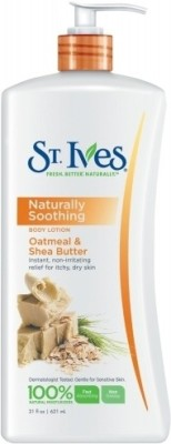 St. Ives Body Lotion Naturally Soothing Oatmeal & Shea Butter
