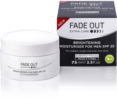Fade Out Extra Care Brightening Moisturiser For Men Spf 25