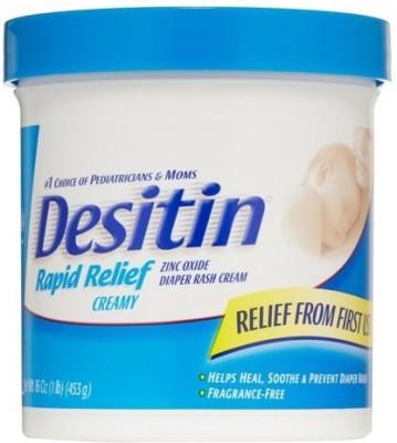 Desitin Rapid Relief Creamy Diaper Rash Cream Jar - 453 g