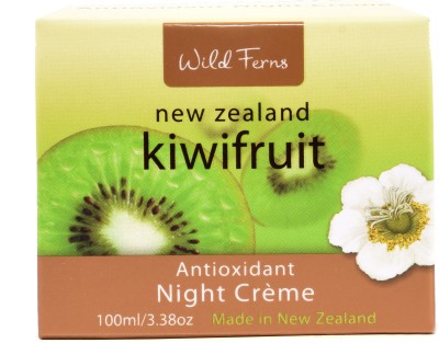 Wild ferns KIWIFRUIT NIGHT CREAM 100 ML