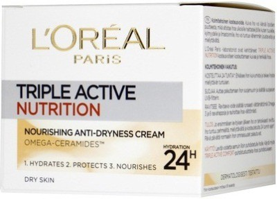 L,Oreal Paris Triple active nutrition anti-dryness cream