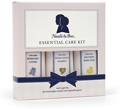 Noodle & Boo Essential Care Kit: Soothing Body Wash, Extra Gentle Shampoo and Super Soft Lotion