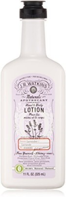 J.R. Watkins Hand & Body Lotion, Lavender, - (Pack of 3)
