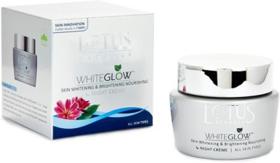 Lotus Herbals Whiteglow Skin Whitening & Brightening Nourishing Night Creme
