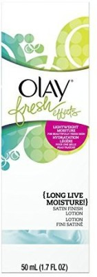 Chom Olay Fresh Effects Long Live Moisture! Lotion (Pack of 3)