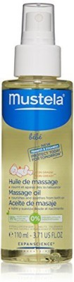 Mustela Massage Oil, 3.71 fl. oz(109.7047 ml) at flipkart