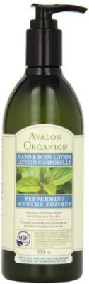 Avalon Organics Peppermint Hand & Body Lotion