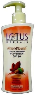 Lotus Herbals Almondnourish Daily Nourishing Body Lotion SPF-20