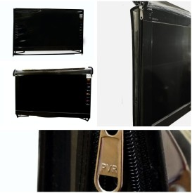 ADITYA Television accessories for 48 inch LED TV - Transparent safety covers with dual zippers T-48