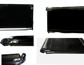 ADITYA Television accessories for 22 inch LED TV SCREEN - Transparent safety covers with dual zippers