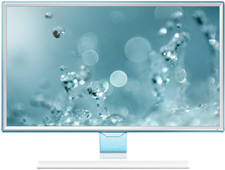 Samsung 23.54 inch Full HD LED Backlit - LS24E360HL/XL  Monitor(White High Glossy) image
