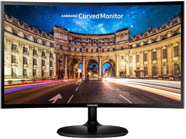 Samsung 26.96 inch Curved Full HD LED Backlit - LC27F390FHWXXL  Monitor(Black) image