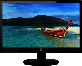 HP 47 cm HD LED Backlit - 19KA  Monitor(Black)