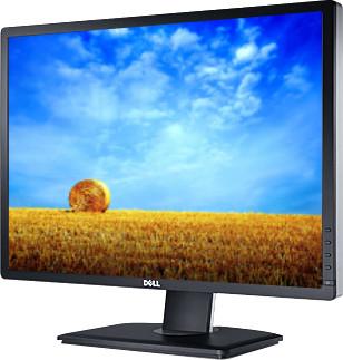 Dell U2412M 24 inch LED Backlit LCD Monitor(Black, Silver) image