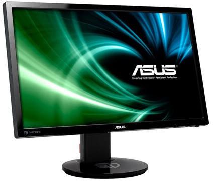 Asus 24 inch Full HD LED - VG248  Monitor(Black, Grey)