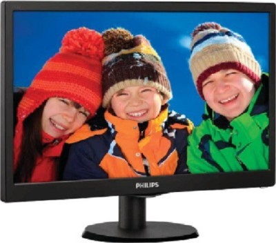 Philips 18.5 inch LED - 193V5LSB23 Monitor(Black)