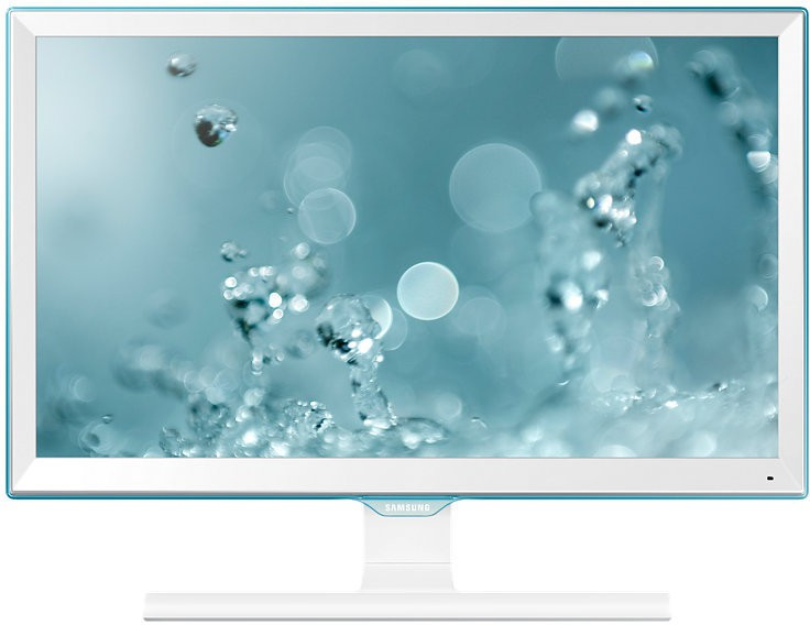 Samsung 21.5 inch HD LED - Ls22e360hs/Xl  Monitor(White High Glossy) image