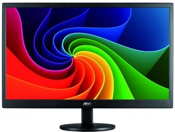 AOC 15.6 inch LED Backlit LCD - e1670Swu/WMMonitor(Black) image