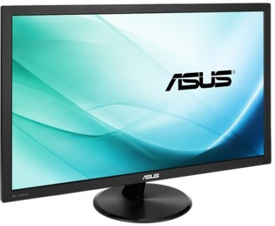 Asus 23.6 inch Full HD LED - VP247 Monitor(Black, Grey)
