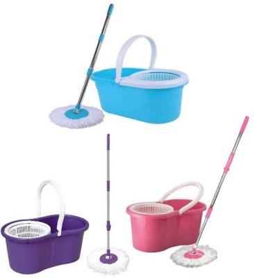 DEALSNBUY Wet & Dry Mop(Multicolor)