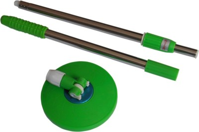 Easy to Clean Replacement Handle Wet & Dry Mop(Green 1.5 m)