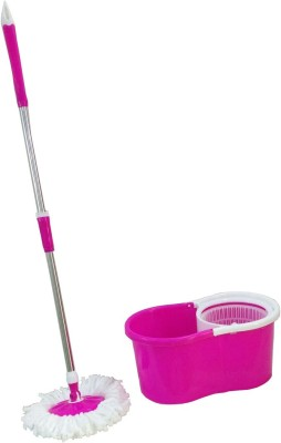 SAIMANI Ultra Absorbent Mop Mop Set(Built in Wringer Multicolor)