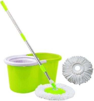 Blue Leaf Mop Set