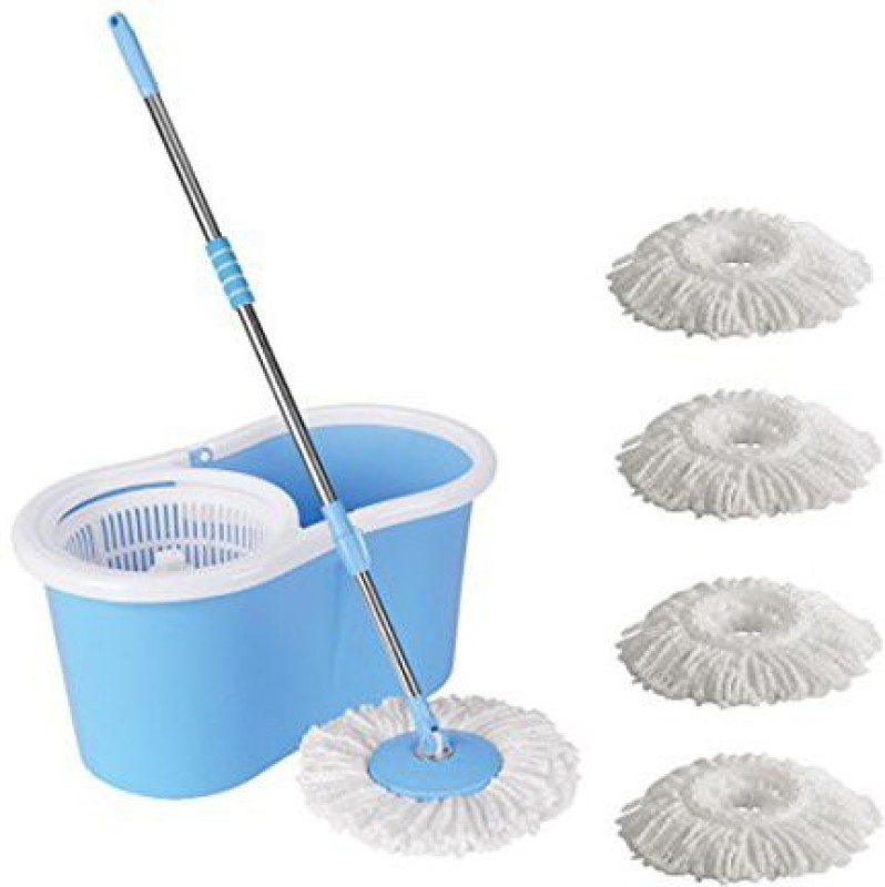 ECO SHOPEE ECO SHOPEE PVC SUPER MAGIC MOP WITH FOUR...