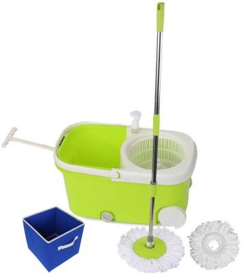 Blyssware Green CleanSweep with Wheels a...