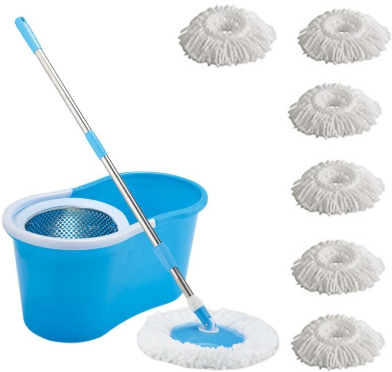 ECO SHOPEE ECO SHOPEE STEEL SUPER MAGIC MOP WITH SIX...