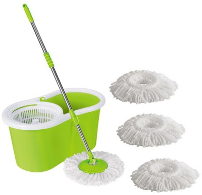Easy to Clean Green Mop Set