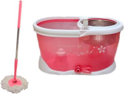 Zavia Pink Steel Mop Set