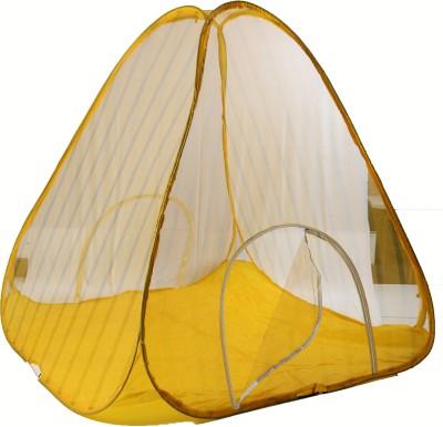 Riddhi Riddhi Yellow 35 miter tent Mosquito Net(Yellow)
