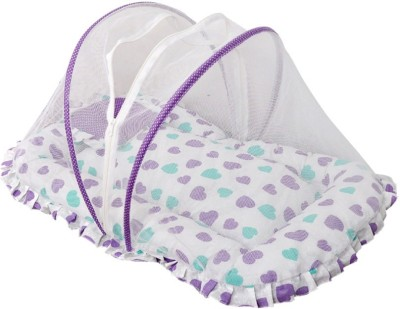 CHINMAY KIDS COTTON DOTTED MOSQUITO BEDDING NET Mosquito Net(Multicolor)