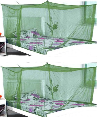 Elegant Green combo Double Bed Mosquito Net Mosquito Net
