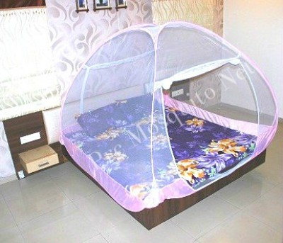 Prc Net Double Bed Pink Premium Mosquito Net
