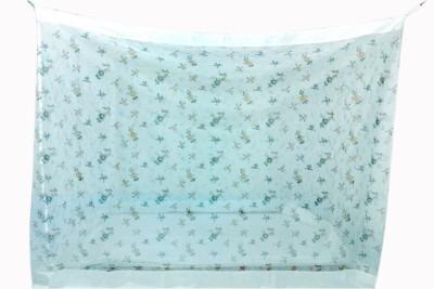 Elegant Elegant 3.5x6.5 Feet Printed Polyester Single Bed Mosquito Net