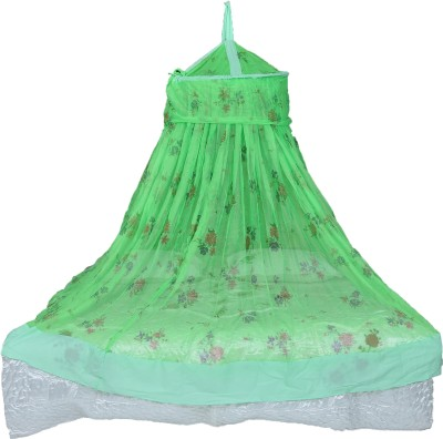 Riddhi green soft printed mosquito protection net Mosquito Net