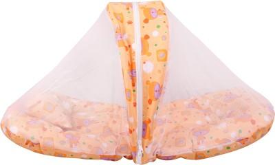 Orange and Orchid Orange Toy Printed Cotton Bedding Set