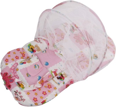 Affaires Foldable - Portable Tent (Pink) Infant/Baby Mattress Mosquito Net