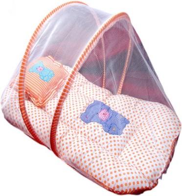 Chinmay Kids Cotton Dot Mosquito Net