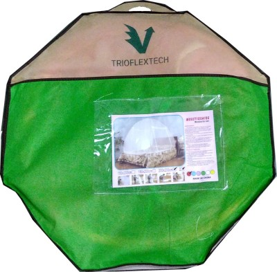 Trioflextech Double bed Foldable Mosquito Net