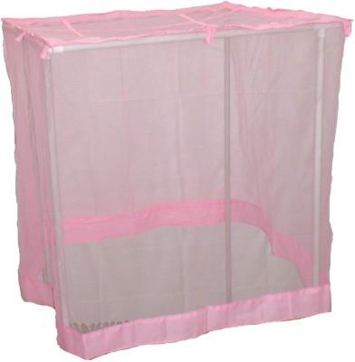 V. K. Enterprise 7 X 7 Pink Hdpe Mosquito Net(Pink)