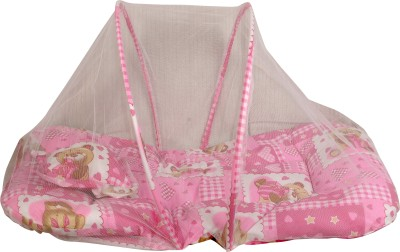 BS SPY Baby Bedding Set Foldable With Pillow, Size Small Mosquito Net